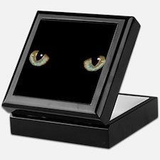 Cat Eyes Keepsake Box
