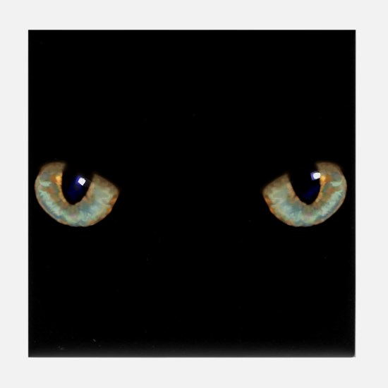 Cat Eyes Tile Coaster