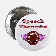 "Speech Therapist 2.25"" Button"