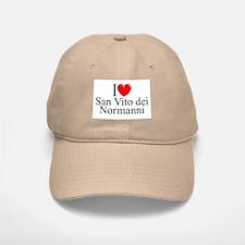 """""""I Love (Heart) San Vito dei Normanni"""" Baseball Baseball Cap"""