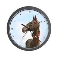 Akhal-Teke Horse Wall Clock