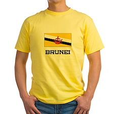 Brunei Flag T