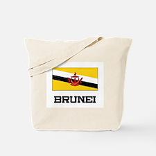 Brunei Flag Tote Bag