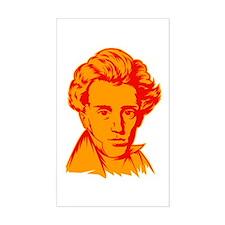 Strk3 Soren Kierkegaard Rectangle Decal