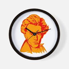 Strk3 Soren Kierkegaard Wall Clock