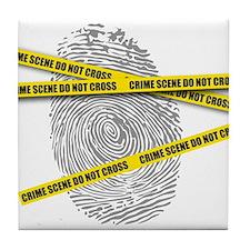 CRIME SCENE! Tile Coaster