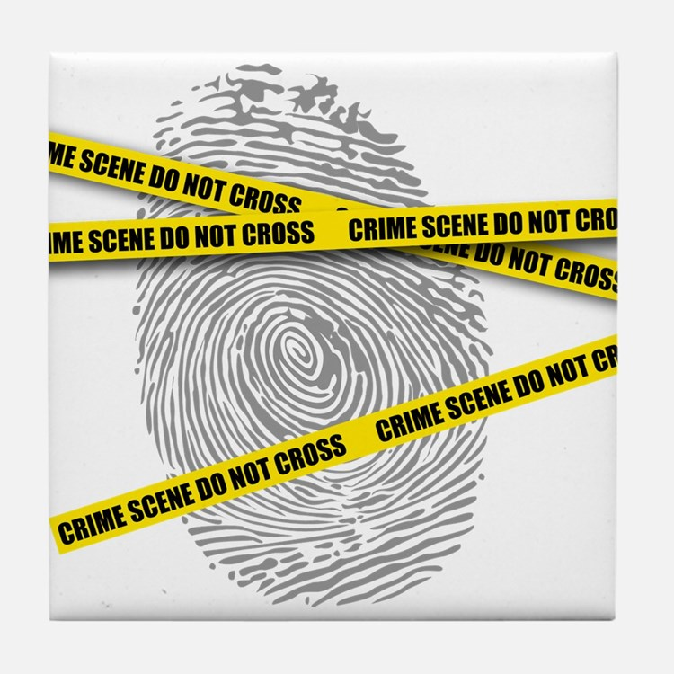 CRIME SCENE! Tile Coaster