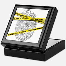 CRIME SCENE! Keepsake Box