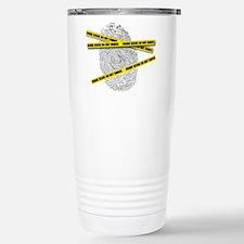 CRIME SCENE! Stainless Steel Travel Mug
