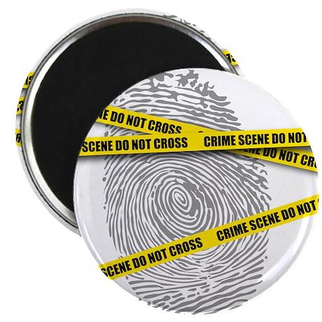 """CRIME SCENE! 2.25"""" Magnet (10 pack)"""