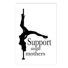 I Support Single Mothers. Postcards (Package of 8)