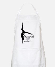 I Support Single Mothers. BBQ Apron
