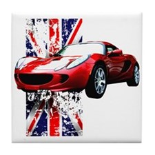 Elise SC UK Tear it up! Tile Coaster