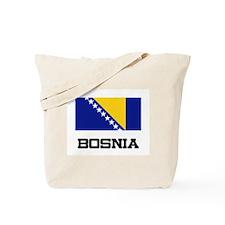 Bosnia Flag Tote Bag