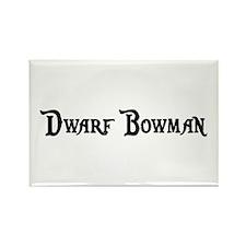 Dwarf Bowman Rectangle Magnet (100 pack)