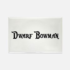 Dwarf Bowman Rectangle Magnet