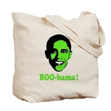 Halloween Boo Obama Tote Bag