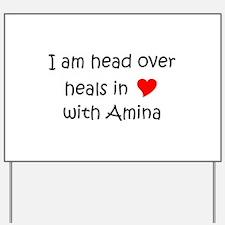 Amina Yard Sign