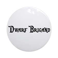 Dwarf Brigand Ornament (Round)