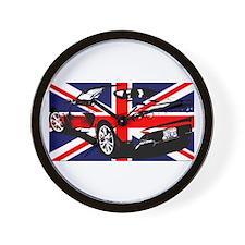 Elise SC UK Rear Wall Clock