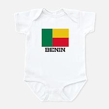 Benin Flag Infant Bodysuit
