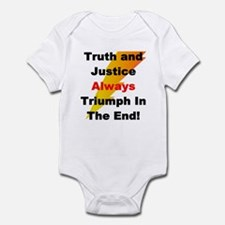 Heroic Truth and Justice Patr Infant Bodysuit