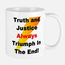 Heroic Truth and Justice Patr Mug