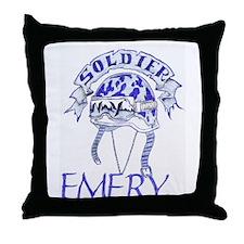 Emery shop Throw Pillow