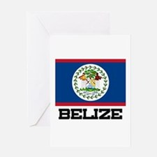 Belize Flag Greeting Card