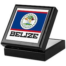 Belize Flag Keepsake Box