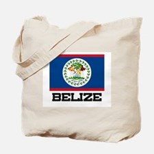 Belize Flag Tote Bag