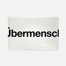 ubermensch Rectangle Magnet