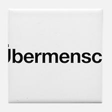 ubermensch Tile Coaster
