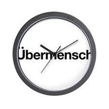 ubermensch Wall Clock