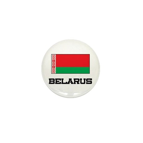 Belarus Flag Mini Button