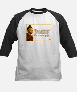 Buddha Buddhism Quotes Kids Baseball Jersey