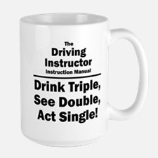 Driving Instructor Large Mug