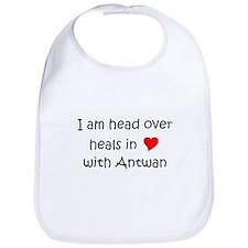 Unique I heart antwan Bib