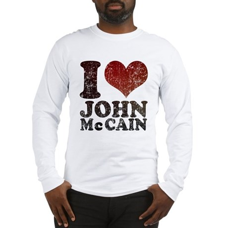 I love John McCain Long Sleeve T-Shirt