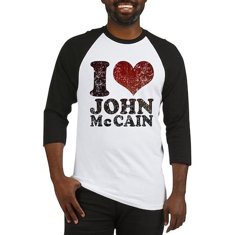 I love John McCain Baseball Jersey