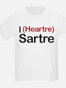 I Heartre Sartre T-Shirt