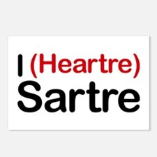 I Heartre Sartre Postcards (Package of 8)