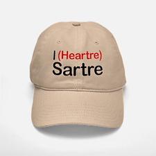 I Heartre Sartre Baseball Baseball Cap