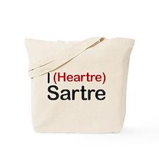 I Heartre Sartre Tote Bag