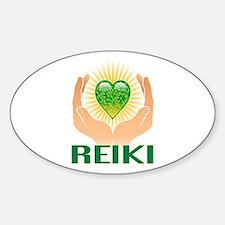 REIKI Oval Decal