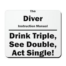 Diver Mousepad