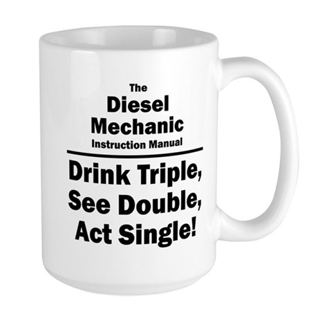 Diesel Mechanic Large Mug