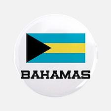 "Bahamas Flag 3.5"" Button"