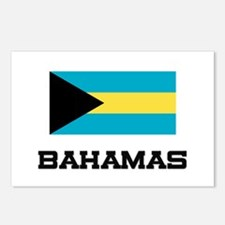Bahamas Flag Postcards (Package of 8)