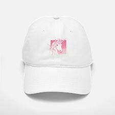 1 Pink Unicorn Baseball Baseball Cap